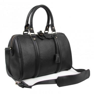 Jenny Genuine Leather Tote Bag Black 75273