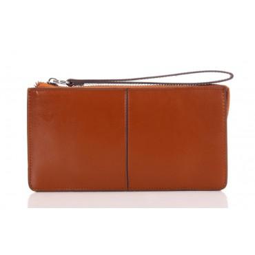 Portefeuille en cuir Marron 65120