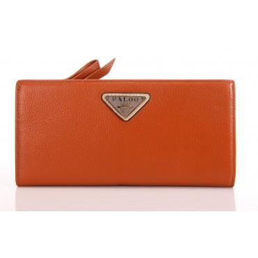 Portefeuille en cuir Marron 65121