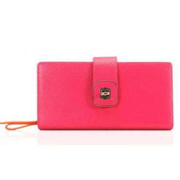 Portefeuille en cuir Rouge 65125