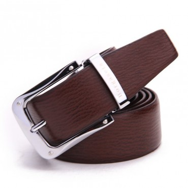 Genuine Cowhide Leather Belt Brown 86302