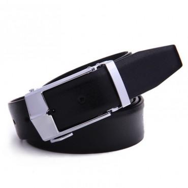 Genuine Cowhide Leather Belt Black 86303