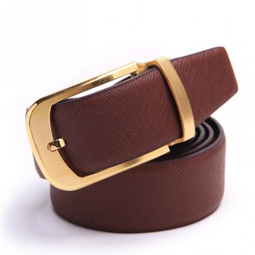 Genuine Cowhide Leather Belt Brown 86306
