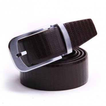 Genuine Cowhide Leather Belt Brown 86306