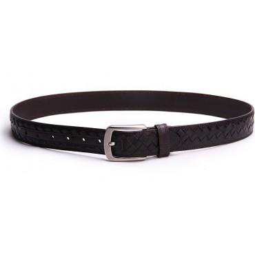 Genuine Cowhide Leather Belt Brown 86316