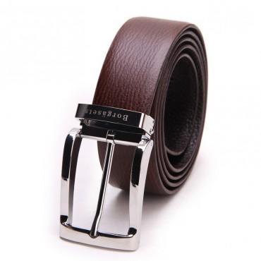 Genuine Cowhide Leather Belt Brown 86317