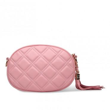 Rosaire Genuine Leather Bag Pink 76141