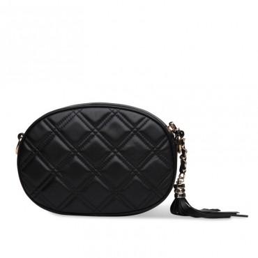 Rosaire Genuine Leather Bag Black 76141