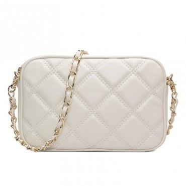 Rosaire Genuine Leather Bag White 76144