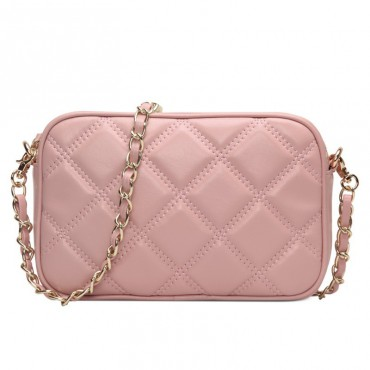 Rosaire Genuine Leather Bag Pink 76144