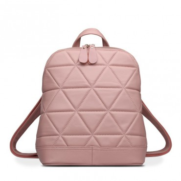 Rosaire Genuine Leather Bag Pink 76146