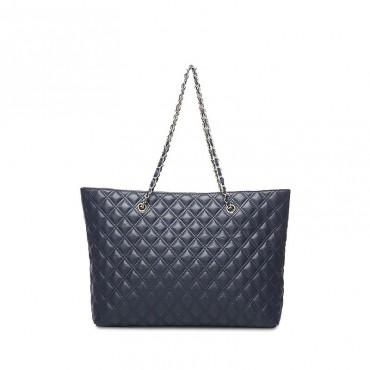 Rosaire Genuine Leather Bag Blue 76154
