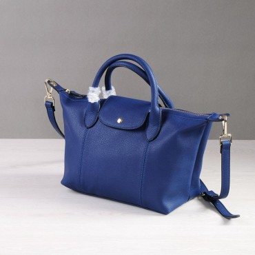 Rosaire Genuine Leather Handbag blue 76185