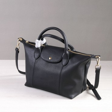 Rosaire Genuine Leather Handbag black 76185