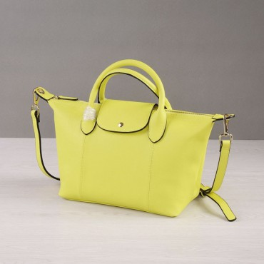 Rosaire Genuine Leather Handbag yellow 76185