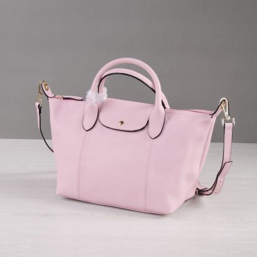 Rosaire Genuine Leather Handbag pink 76185