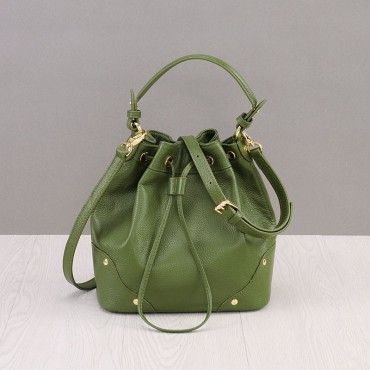 Rosaire Genuine Leather Handbag green 76187