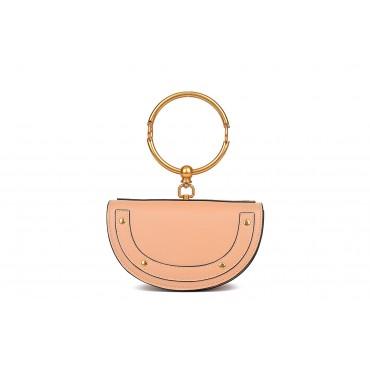 Eldora Genuine Leather Tote Bag Pink 76342
