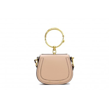 Eldora Genuine Leather Tote Bag Khaki 76344