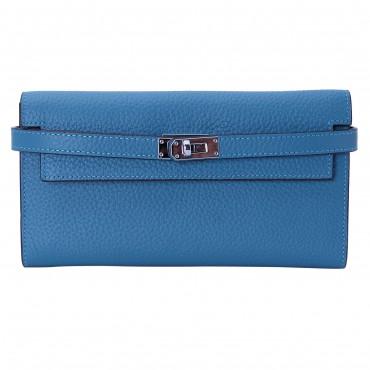 Rosaire « Havana » Portefeuille en cuir Bleu 15988