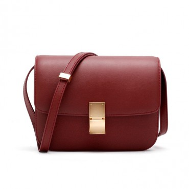 Rosaire « Lorie » Flap Bag Cow Leather Red 77103