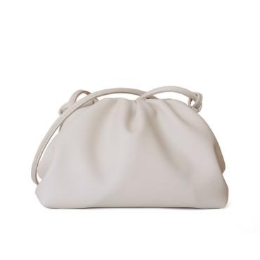 Eldora Genuine Cow Leather Clutch Bag White77117