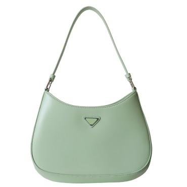 Eldora Genuine Leather Top handle bag Green 77297