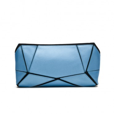 Avre Genuine Leather Shoulder Bag Blue 75173