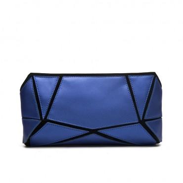 Avre Genuine Leather Shoulder Bag Dark Blue 75173